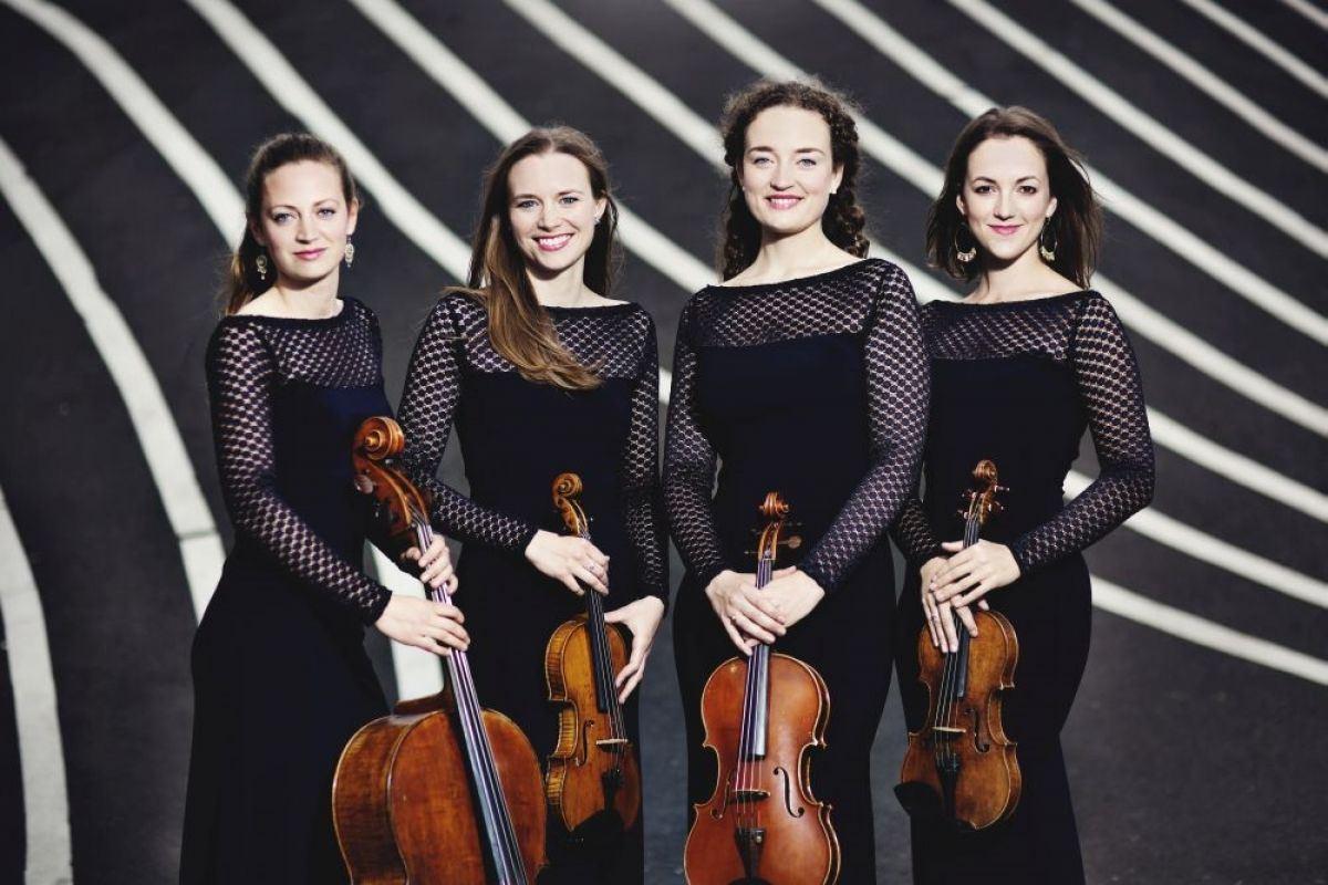 Koncert nr. 1077 Nigthingale String Quartet søndag 4. november 2018 kl. 1500