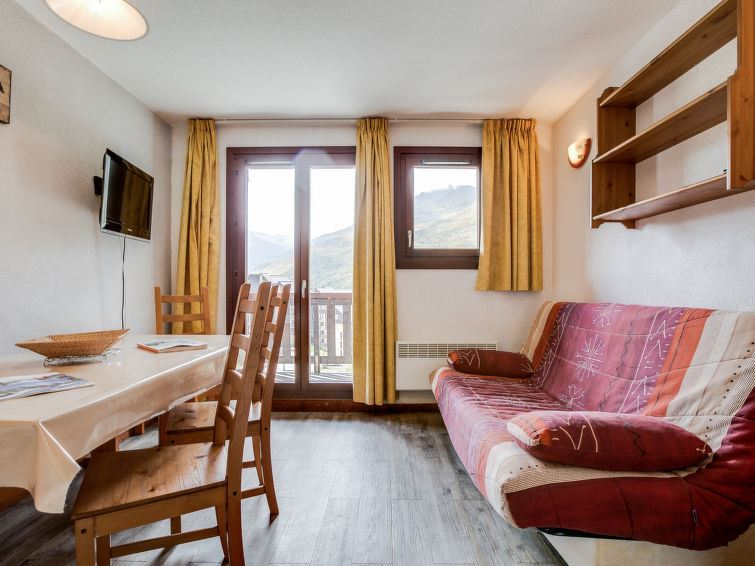 2 Room 6 Pers ski-in ski-out / BALCONS D'OLYMPIE 745