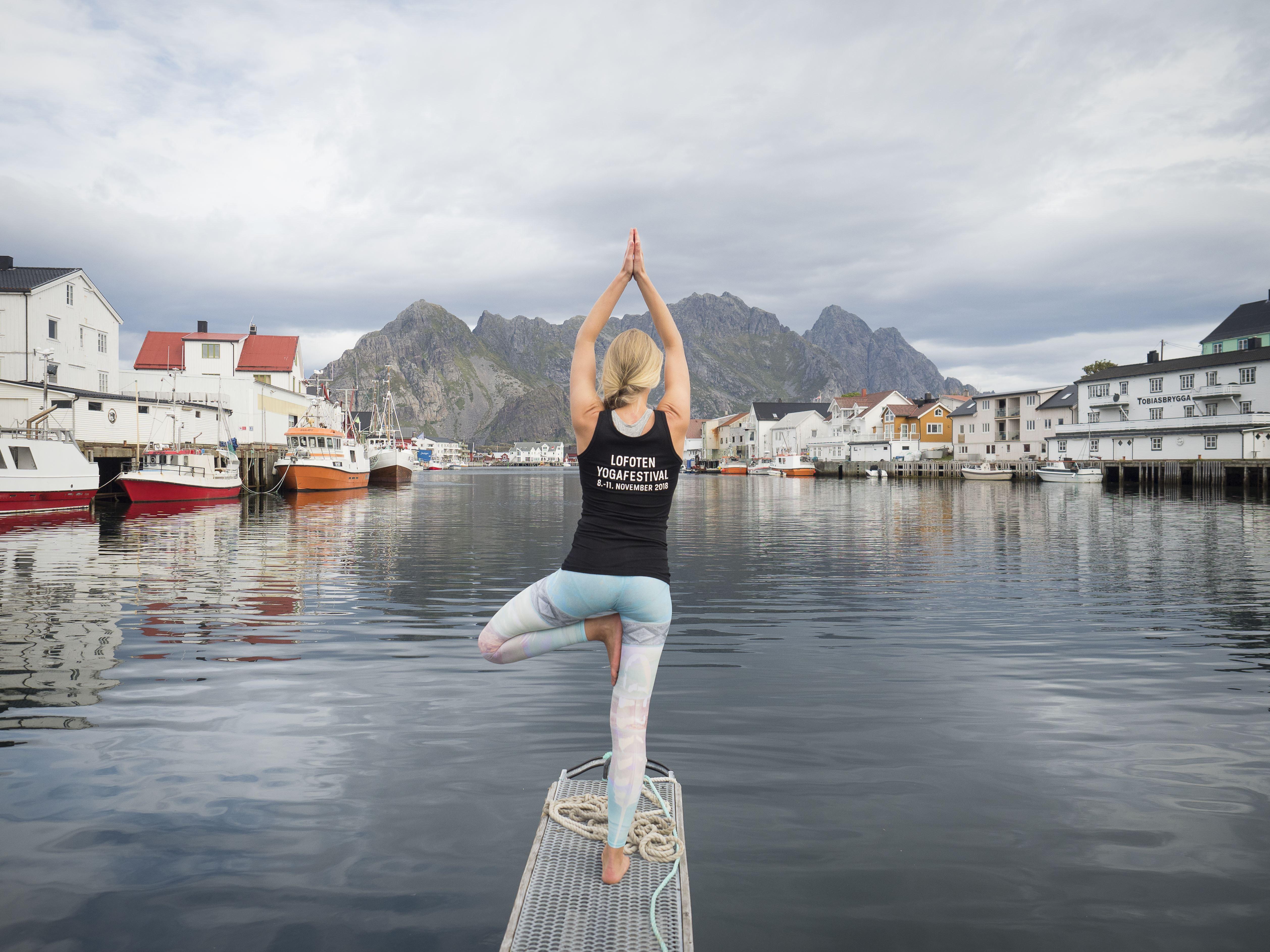 © Kristin Folsland Olsen, Lofoten Yogafestival 2018