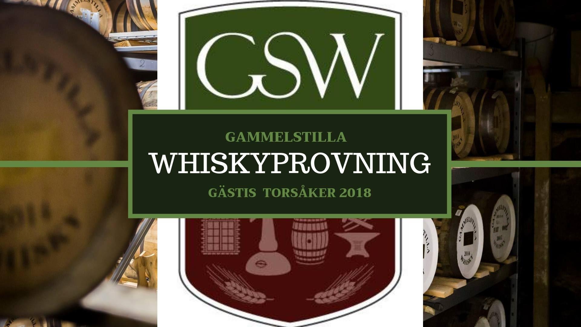 Whiskyprovning och middag på Gästis