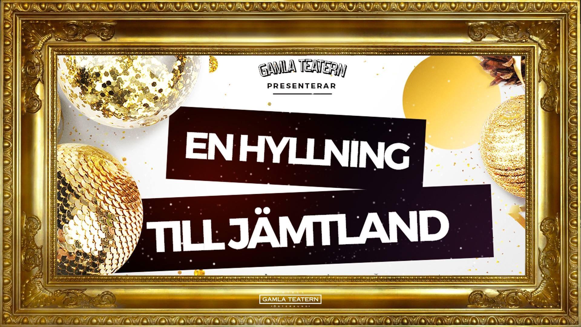 © Gamla teatern, Concert - A tribute to Jämtland
