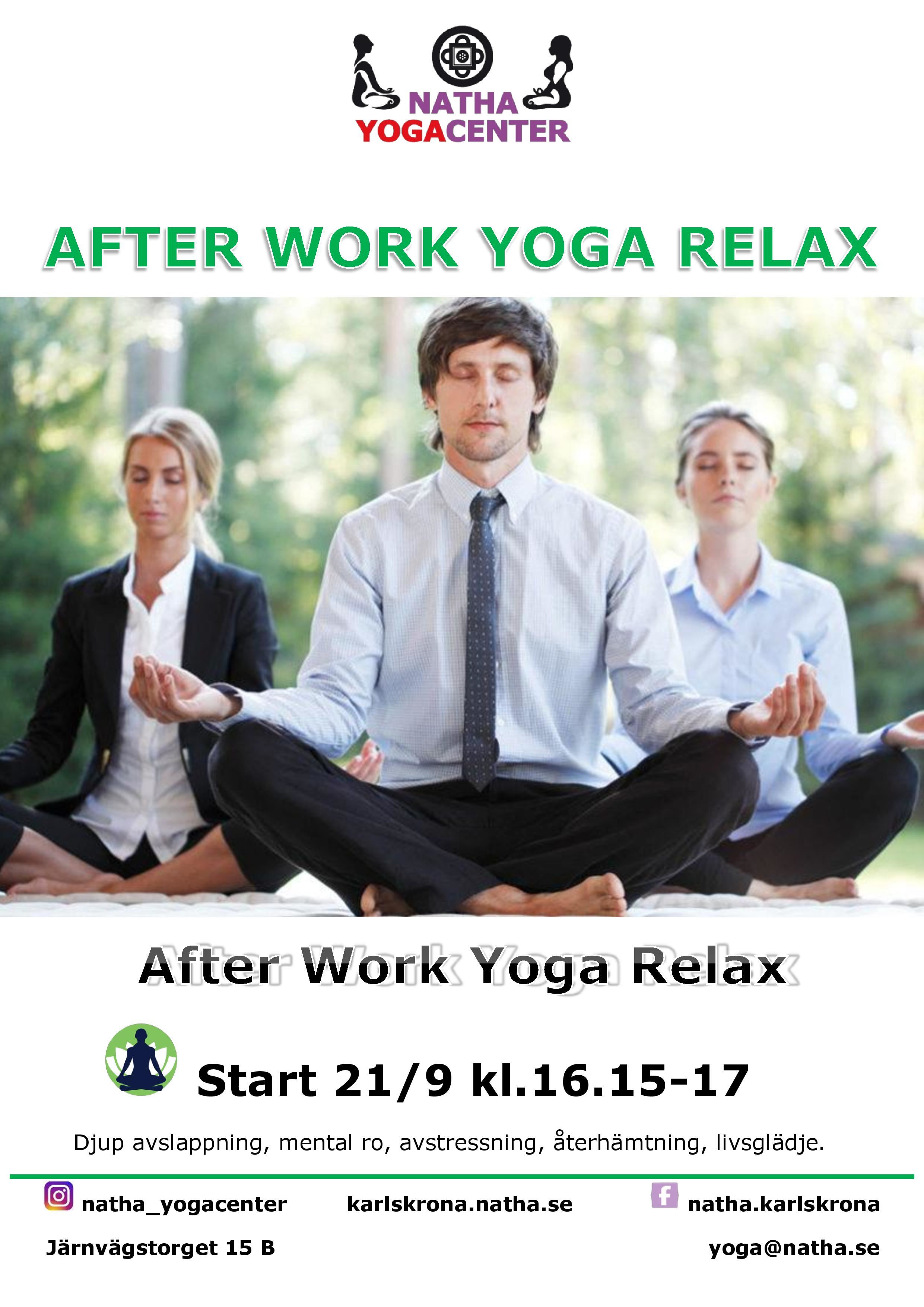 After Work Yoga Relax