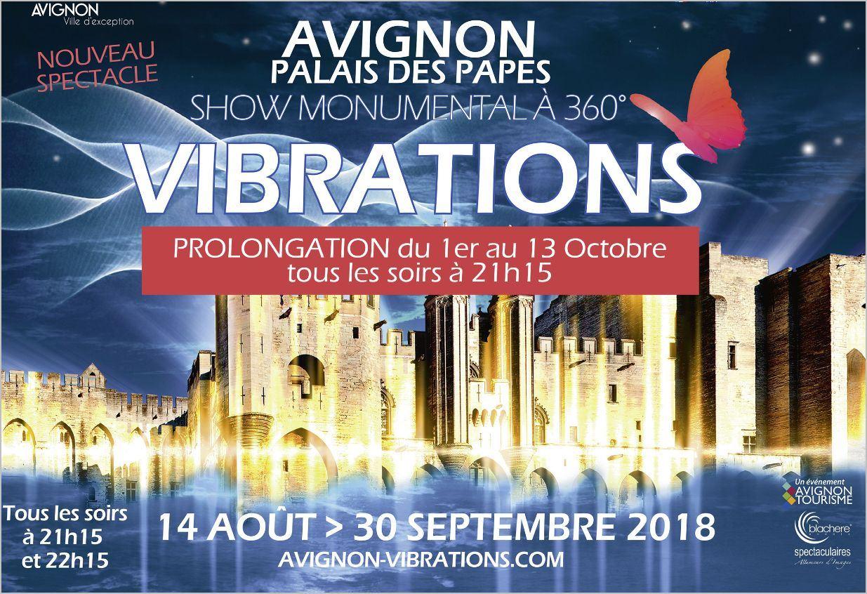 Vibrations - Show monumental à 360°