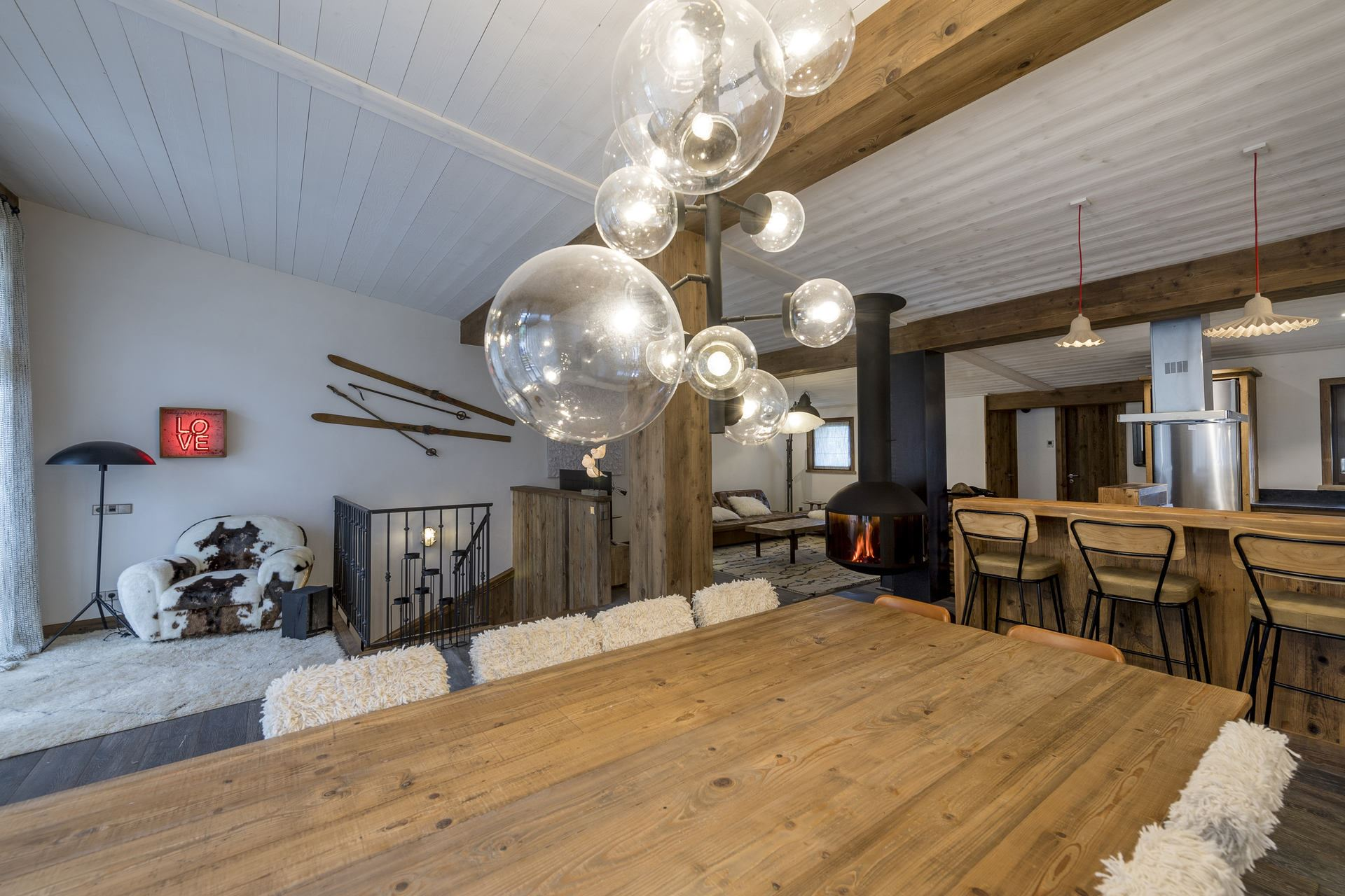 6 rooms 12 people / Chalet Le Flocon (Mountain of dreams)