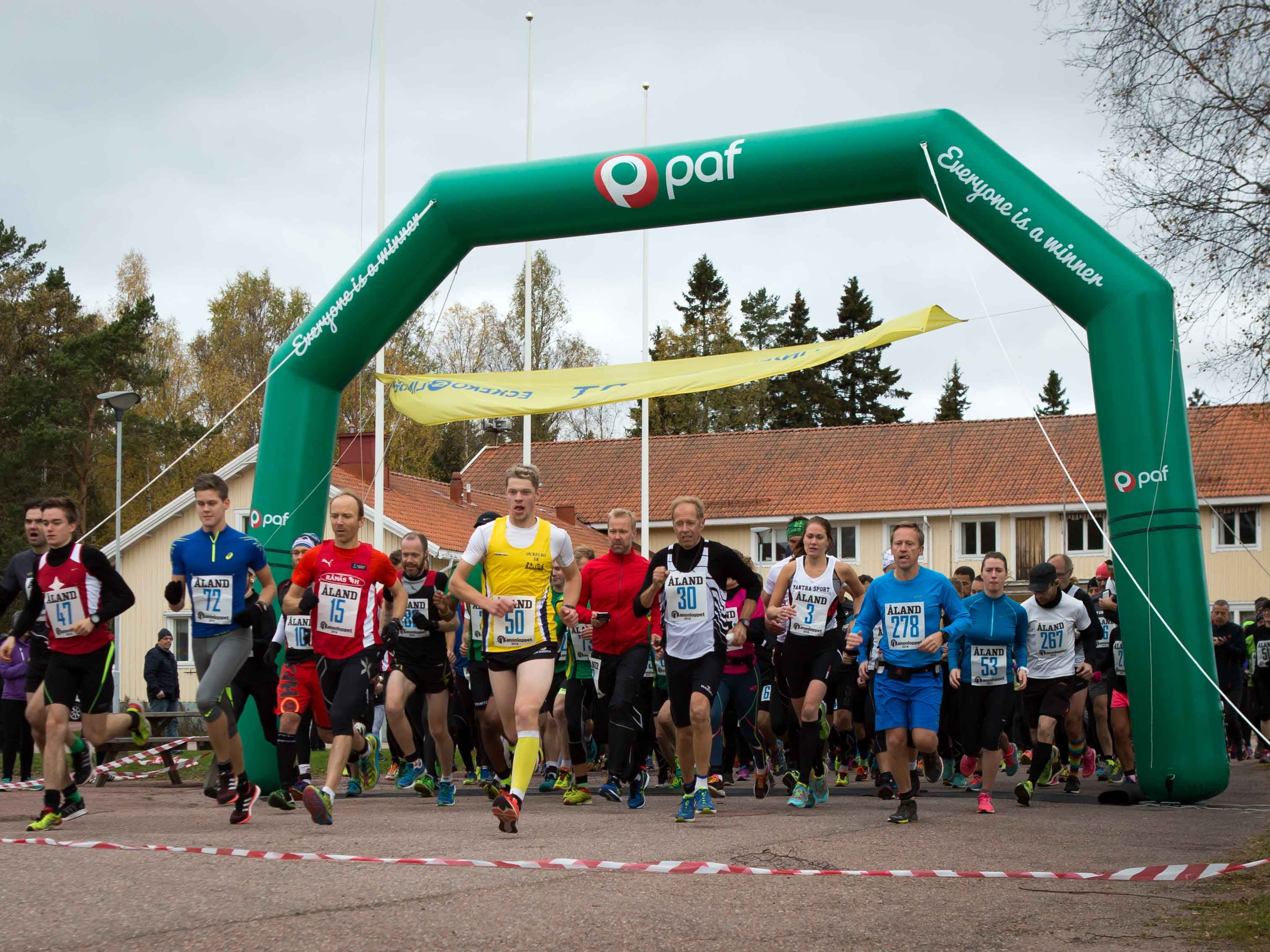 Running contests: Kanonloppet och Ålandsmarschen