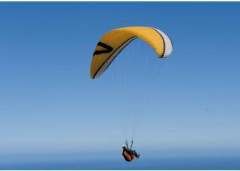 Flying my paraglider with Addict Parapent