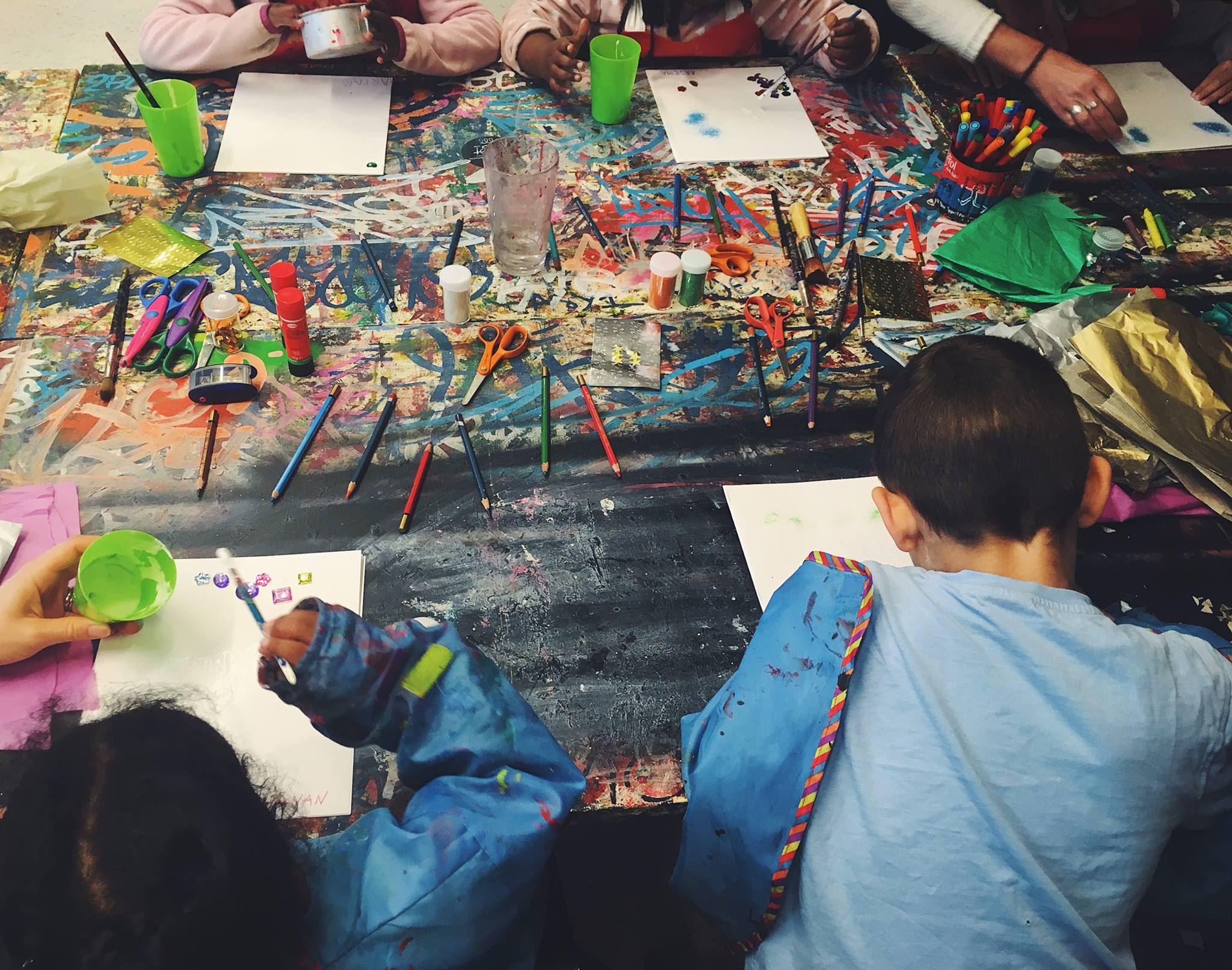 Pethra Schramm,  © Gävle Konstcentrum, Skapande barn