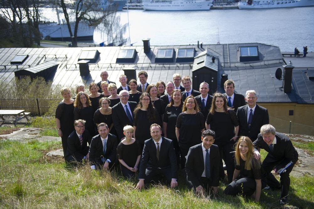 Julkonsert på Hagaberg med Gustaf Sjöqvist Kammarkör