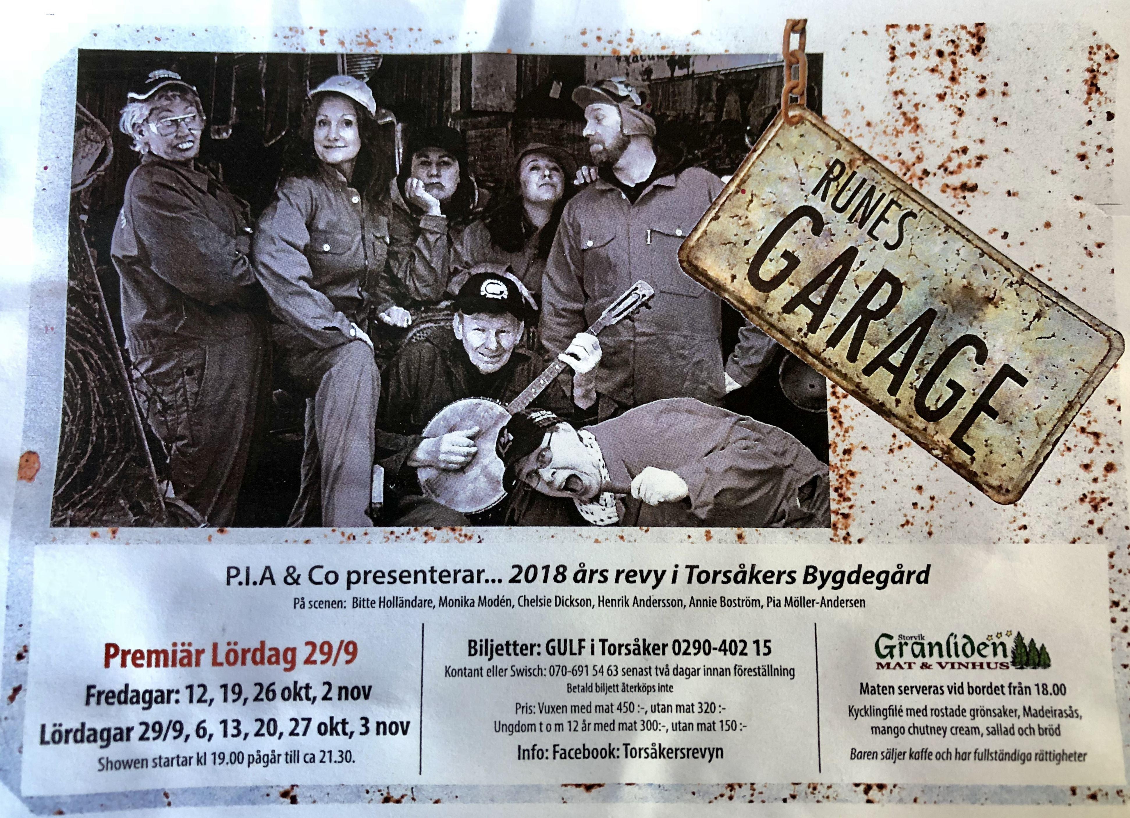 P.I.A & CO presenterar Runes Garage
