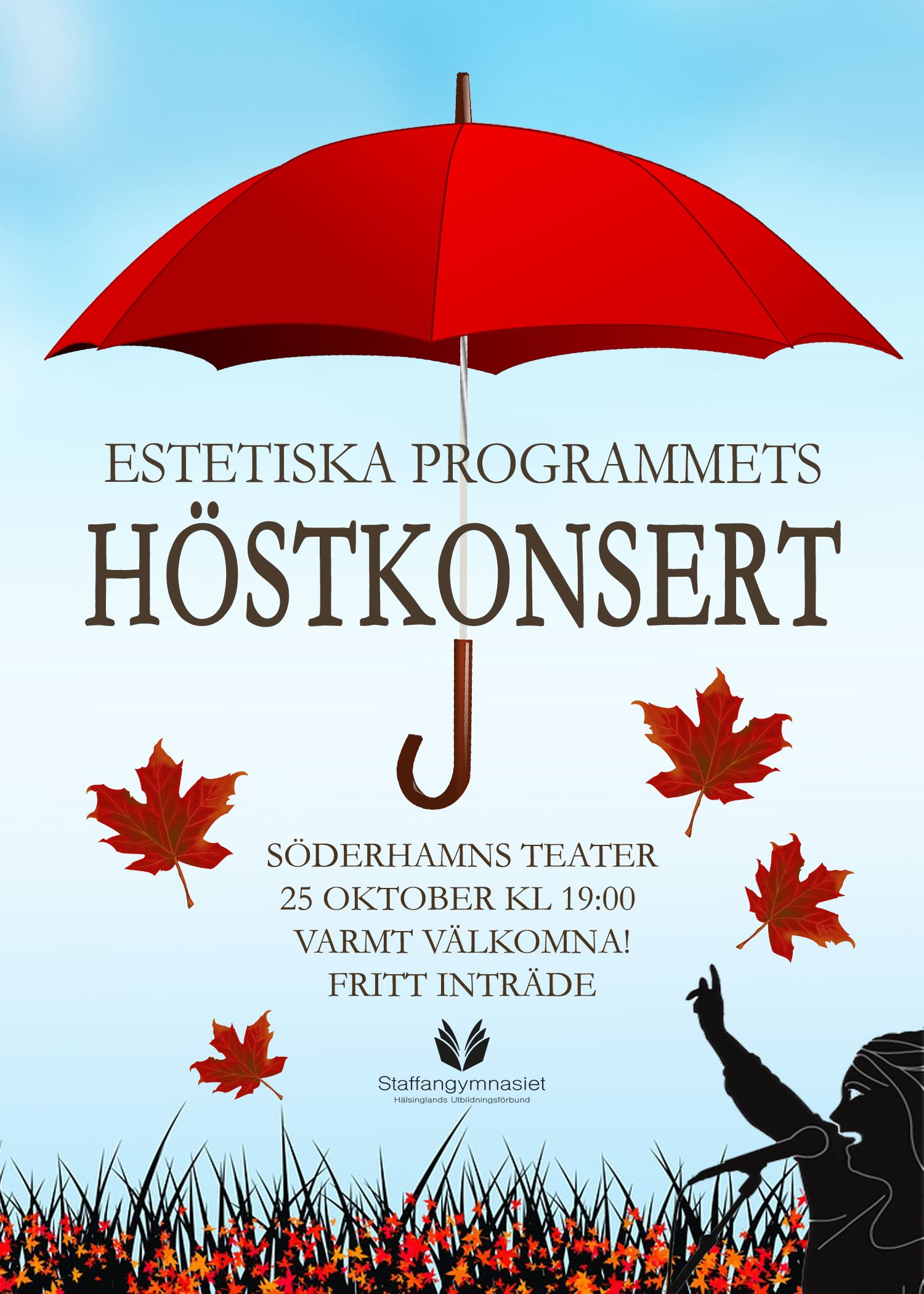 Höstkonsert med Estetiska Programmet