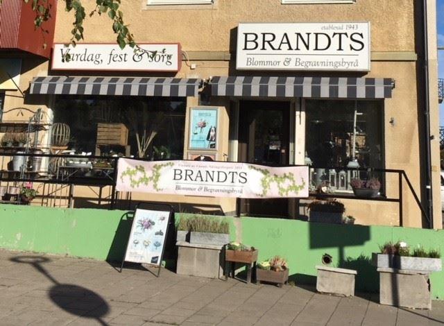 Brandts Blommor och Begravningsbyrå