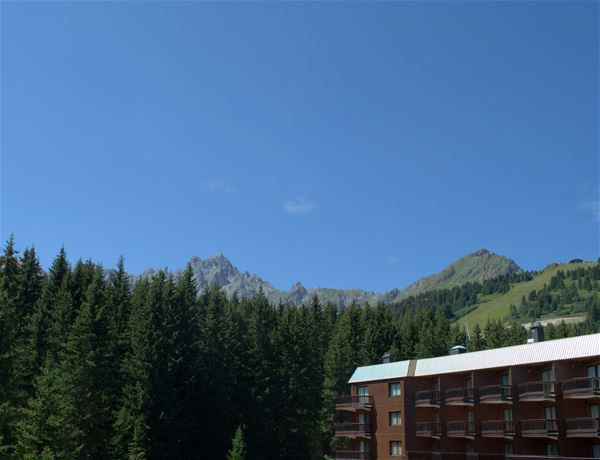 1 studio 4 people, ski-in ski-out / Domaine du Jardin Alpin 108B (Mountain of Charm) / Tranquillity Booking