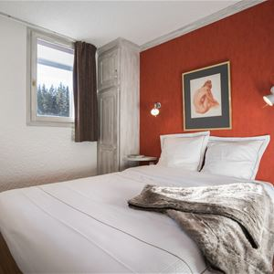 2 rooms with corner 4 to 6 people / Domaine du Jardin Alpin 302B