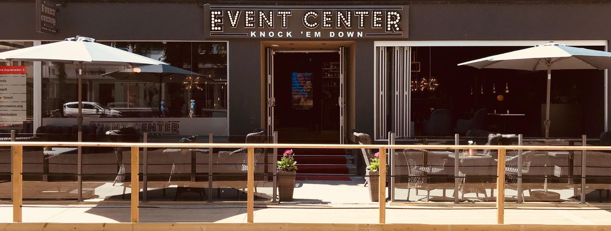 Event Center Knock 'em down