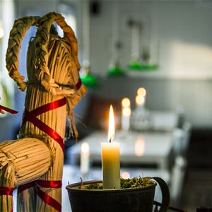 Julbord  Ystegårn Hälsingland