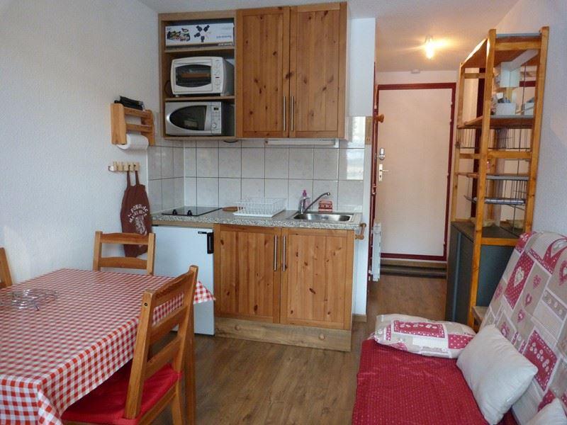 Studio cabine 4 Pers skis aux pieds / SARVAN 707