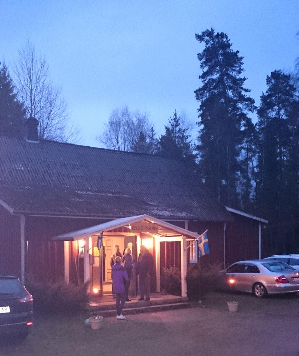Pynta i Nöttja bygdegård
