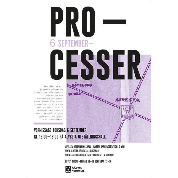 Utställning: Processer