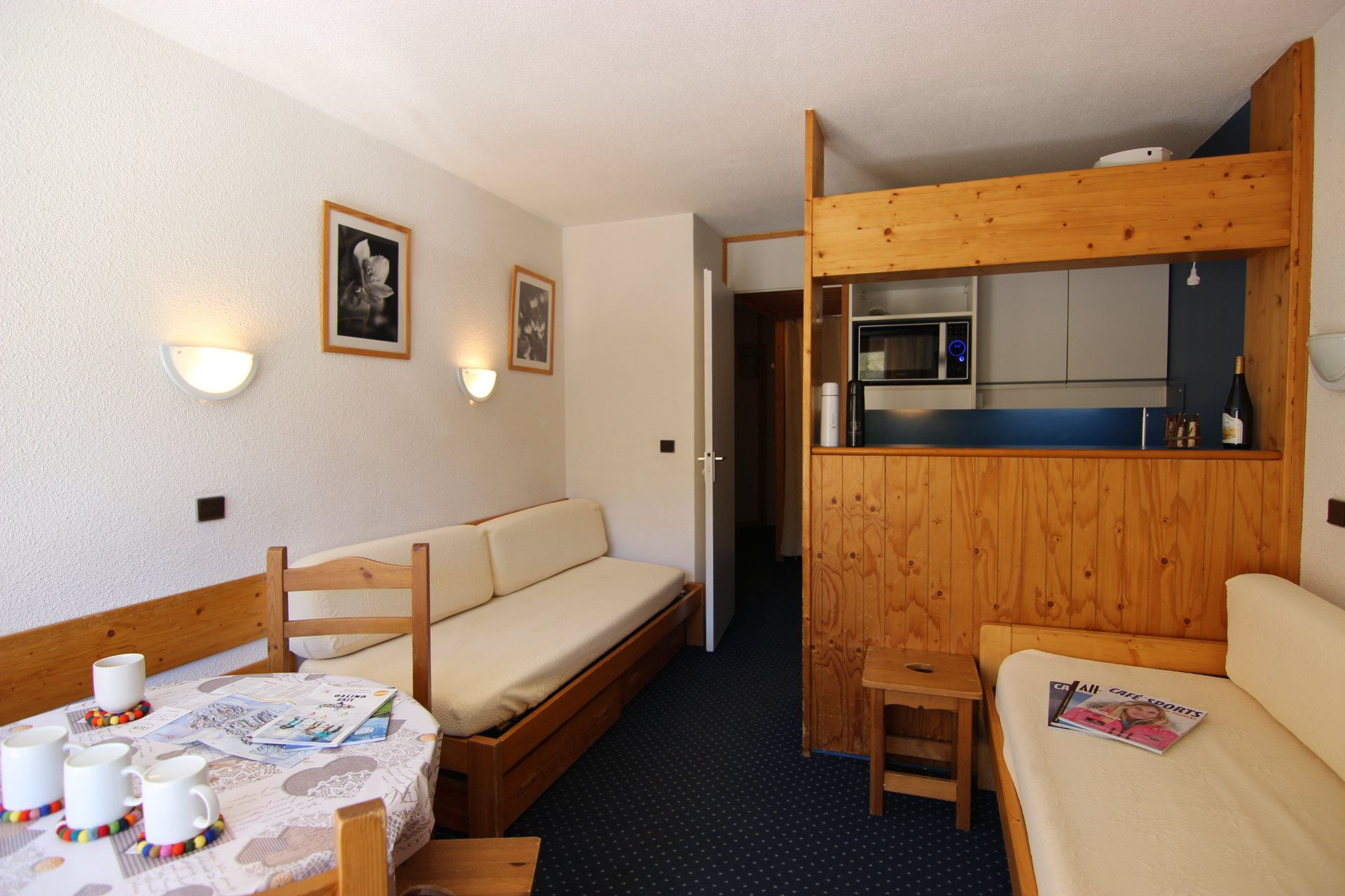 TEMPLES DU SOLEIL MACHU PICHU 703 / 2 ROOMS 4 PERSONS - 1 BRONZE SNOWFLAKE - VTI