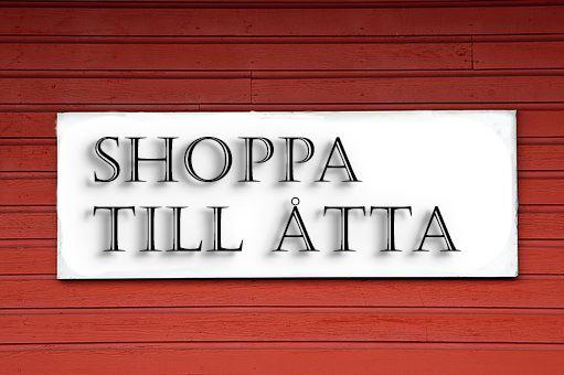 Shoppa till Åtta