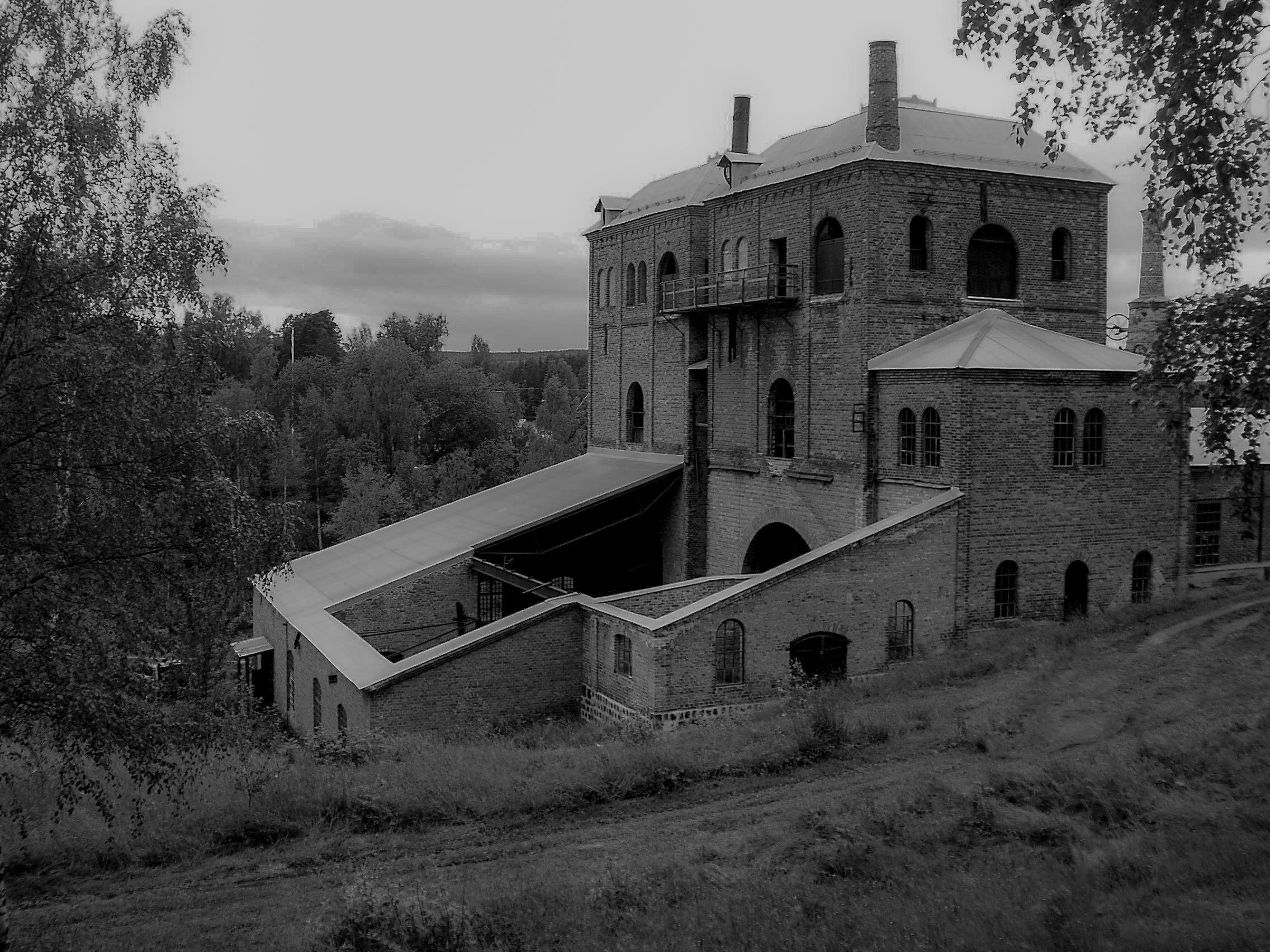 Spökvandring hyttan