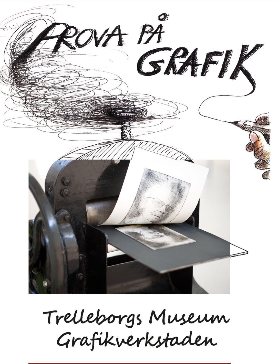 © Trelleborgs museum, grafikkurs
