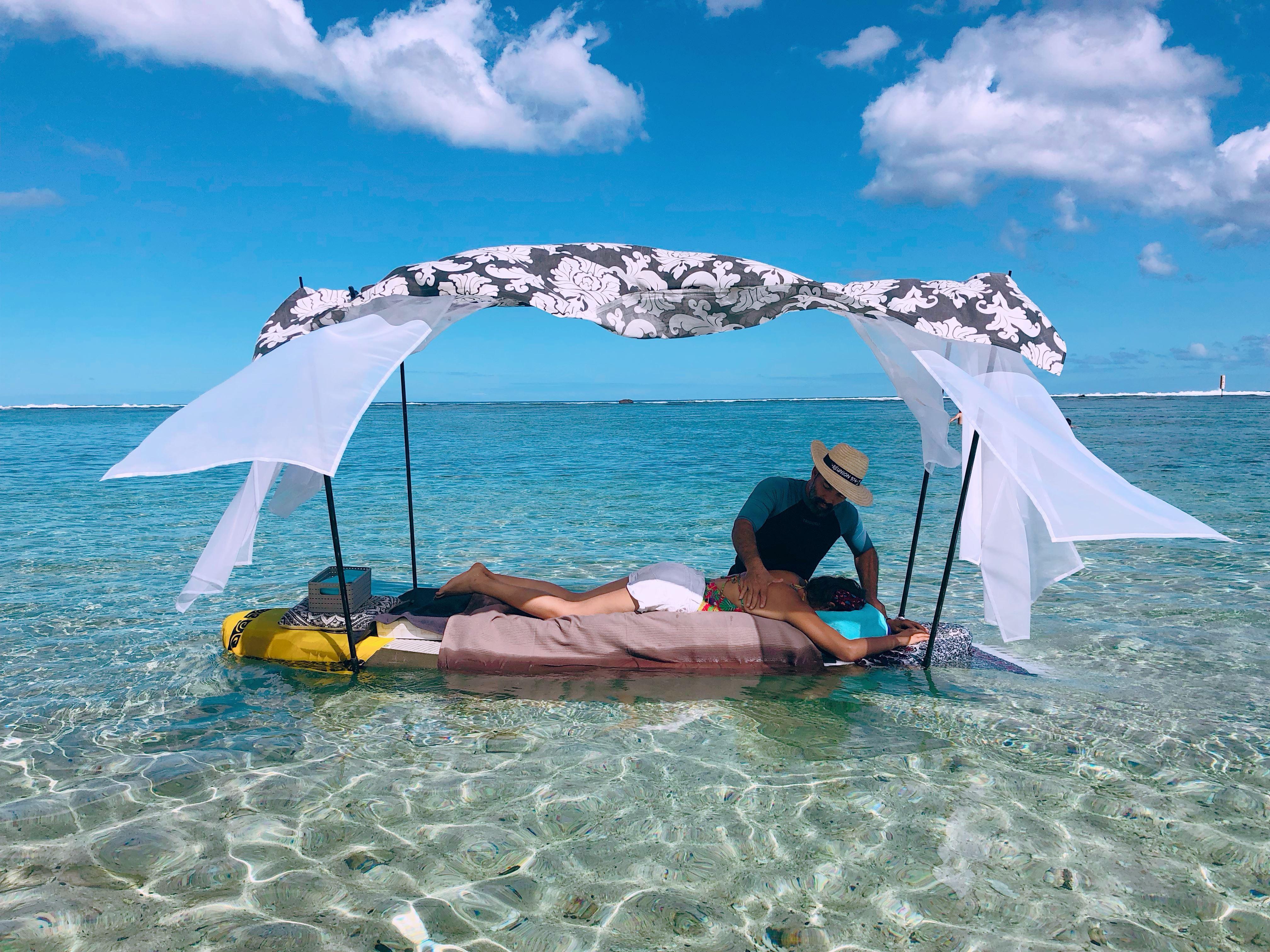 Massage à la plage