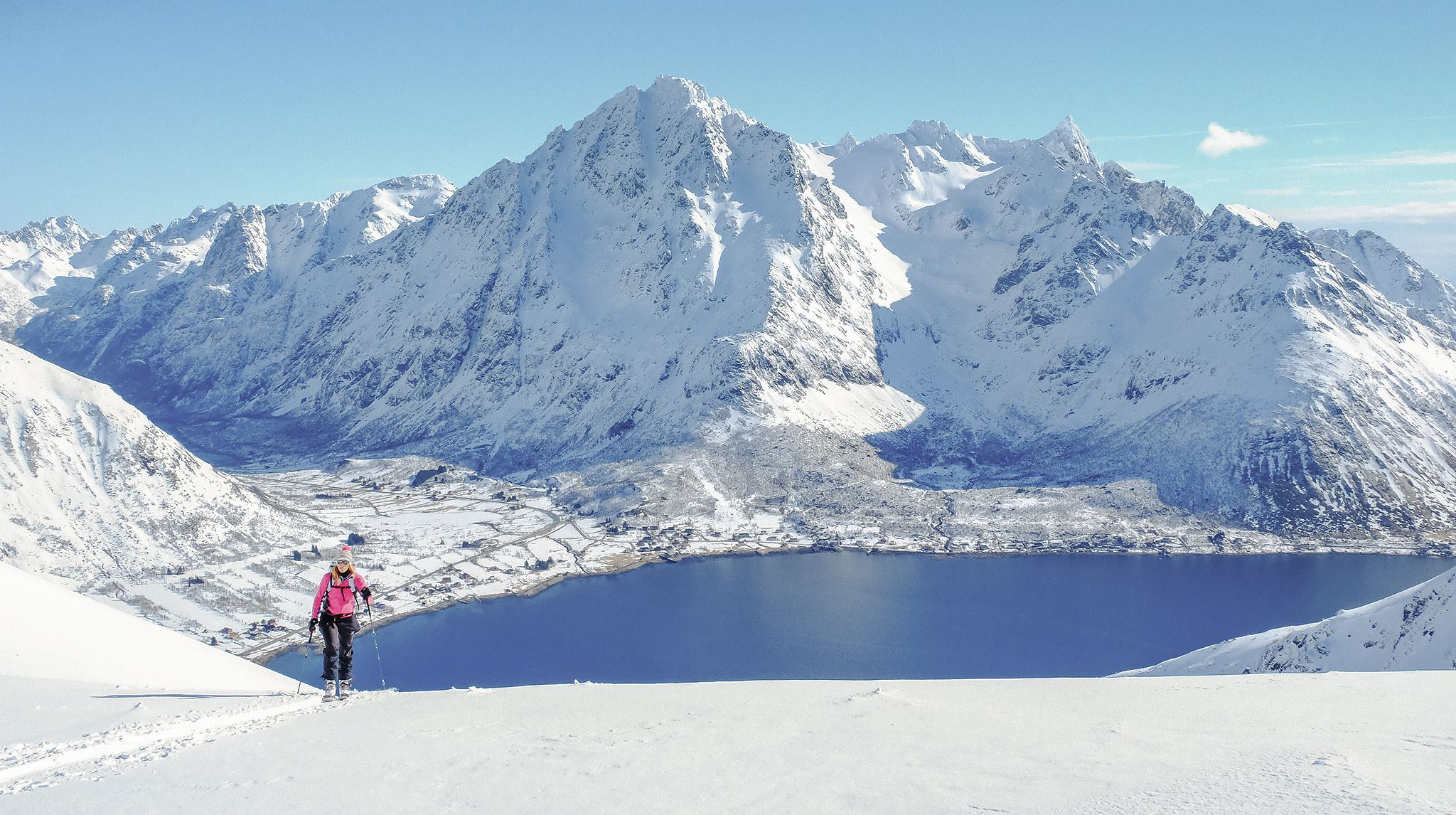 © Mats Grimæth/SeilNorge, Ski and Sail Lofoten