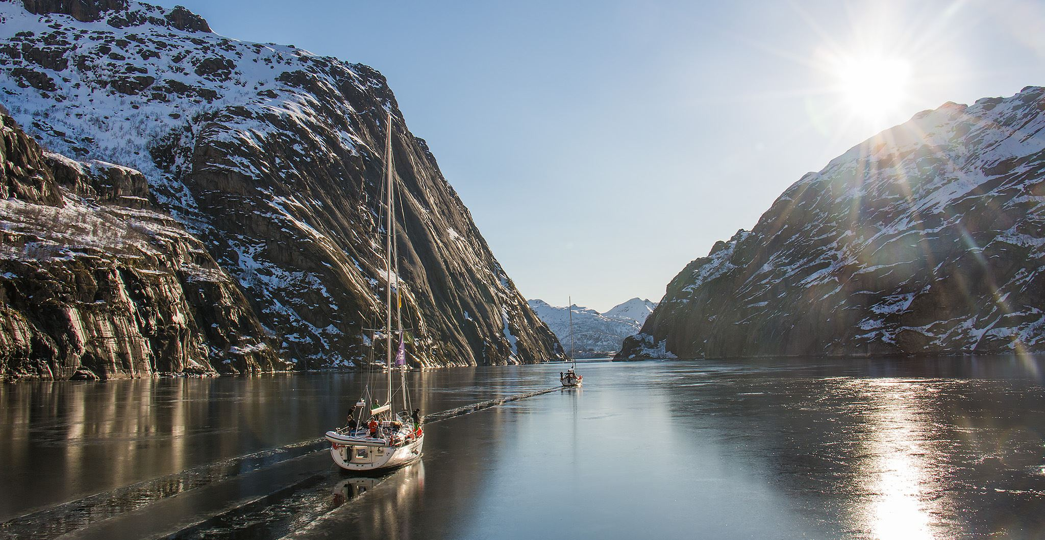© Mats Grimsæth/SeilNorge, Ski and Sail-adventure Easter 2019