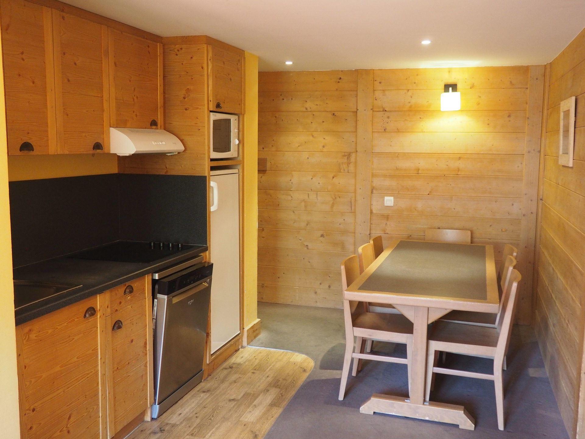 3 Pièces cabine 8 Pers skis aux pieds / ACONIT 224