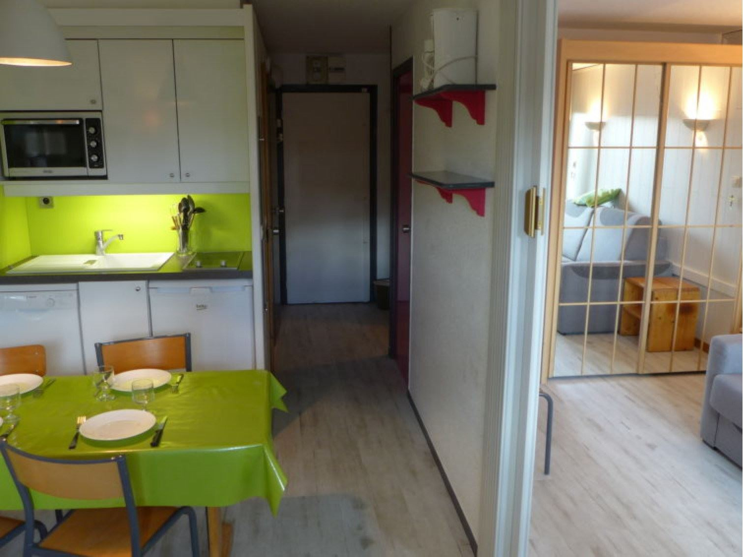 ARCELLE 103 / APARTMENT 2 ROOMS CABIN 5 PERSONS - ADA