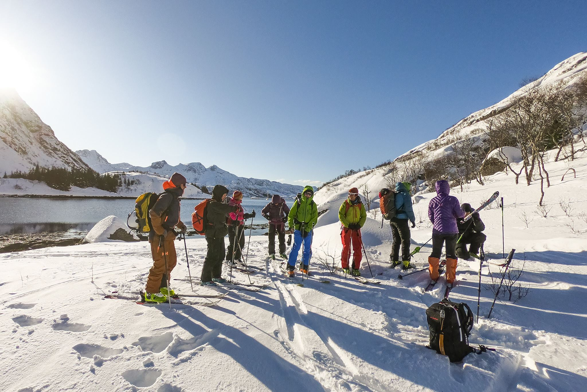 Ski and Sail Lofoten