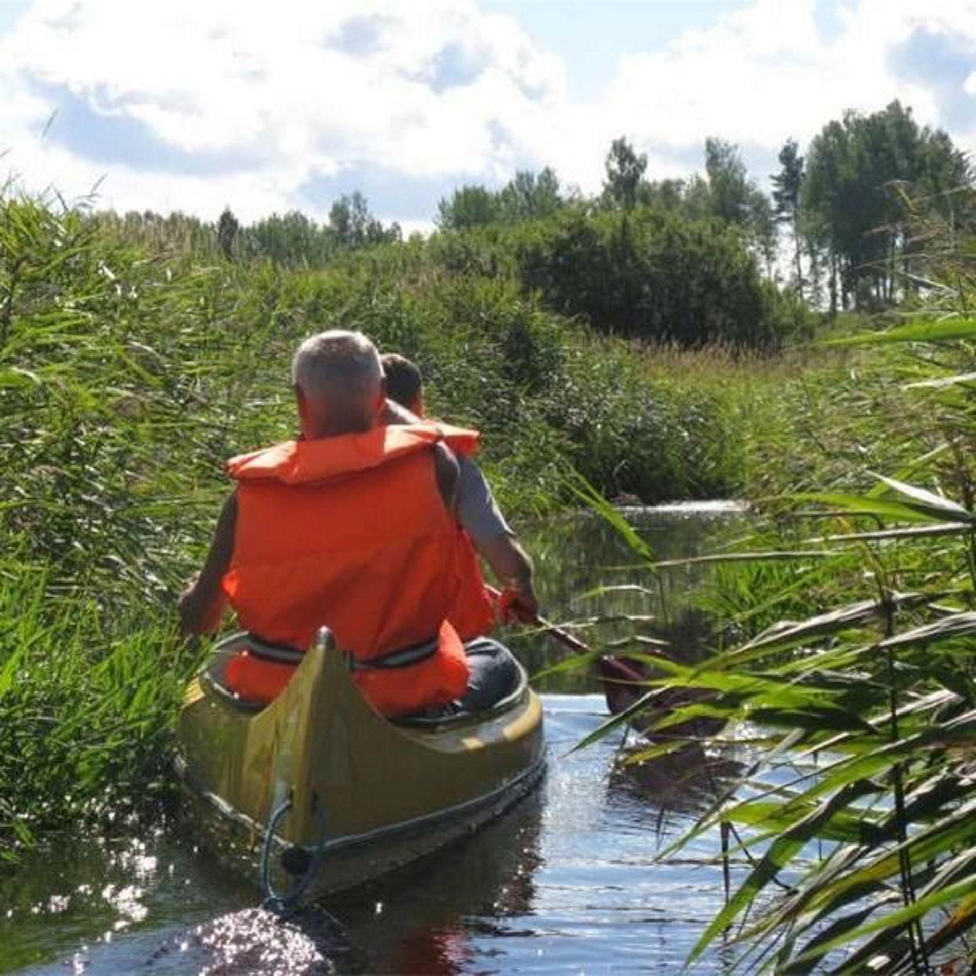 Kanot- & båtuthyrning på Falkuddens Camping & Stugby