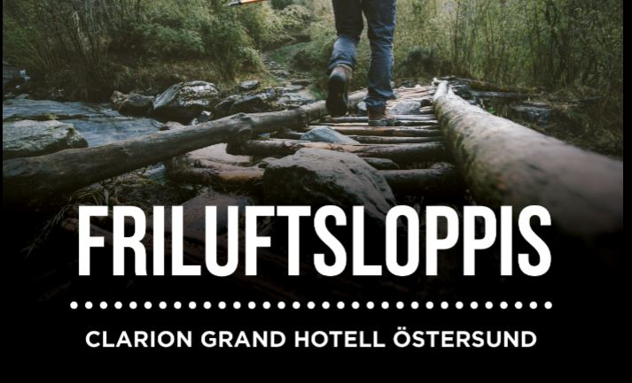 © Copy: Clarion Grand Hotell Östersund, Friluftsloppis