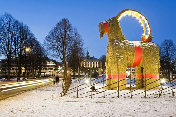 The Gävle Goat's Inauguration