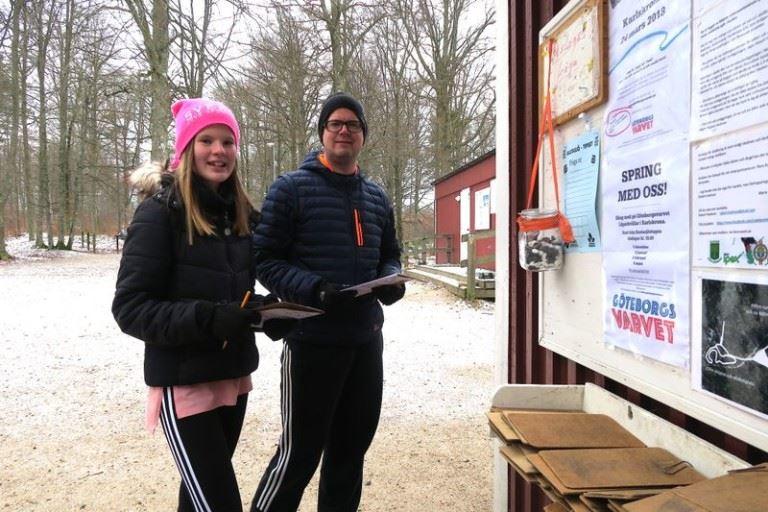 Treasure hunt with Karlskrona SOK