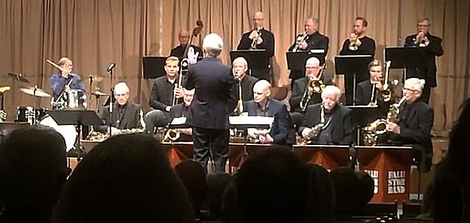 Konsert med Falu Storband