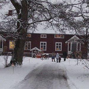 Julmarknad på Bergqvara gård