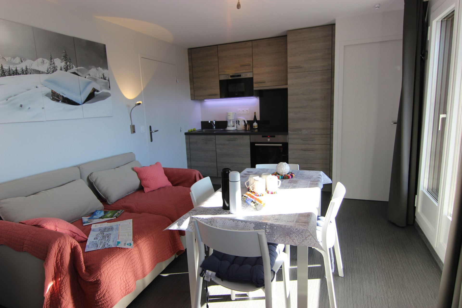 REINE BLANCHE 52 / 2 ROOMS 4 PERSONS - 3 SILVER SNOWFLAKES - VTI