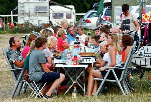 Camping, hel vecka, Extra stor (med el)