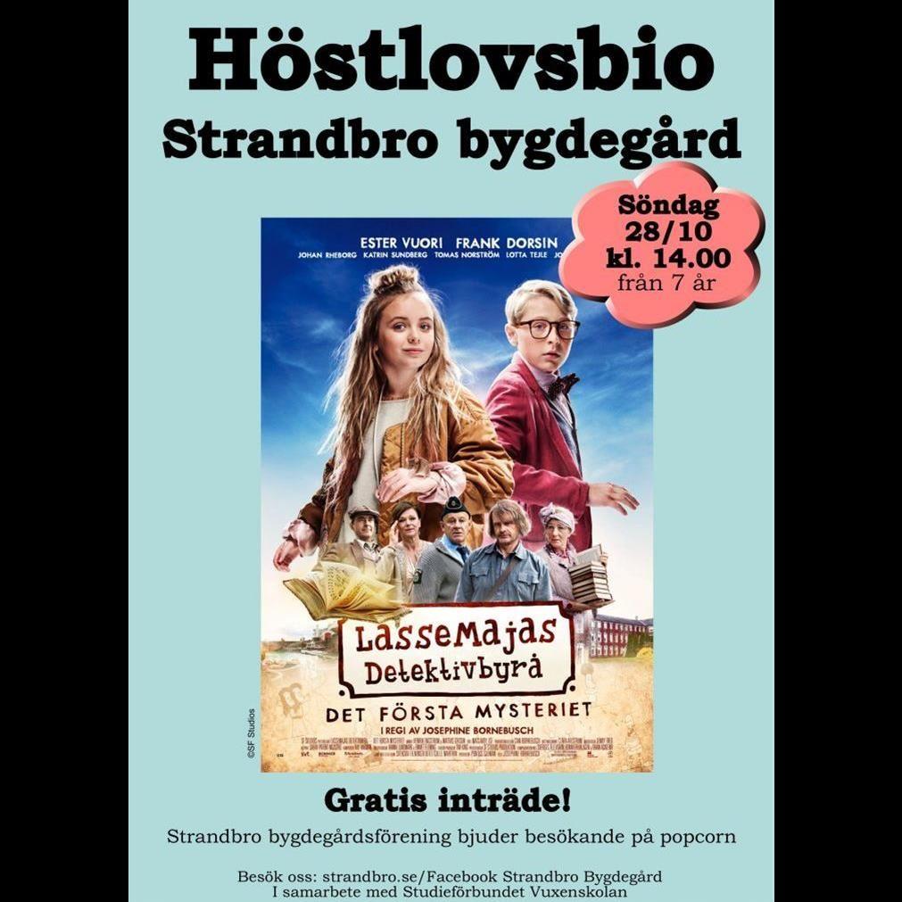 Höstlovsbio - LasseMajas detektivbyrå