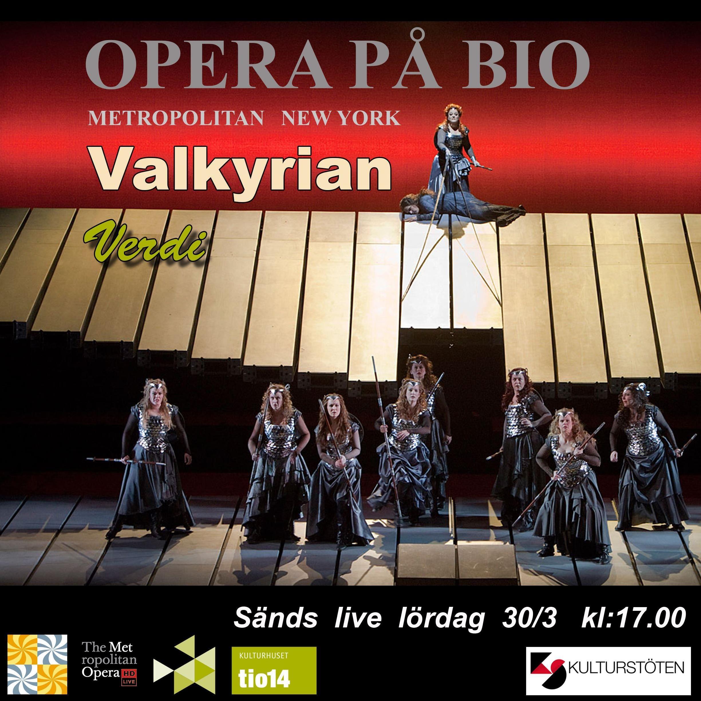 Opera på bio - Valkyrian