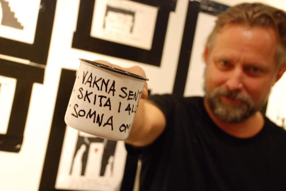"Exhibition - ""Olsson klotter"""