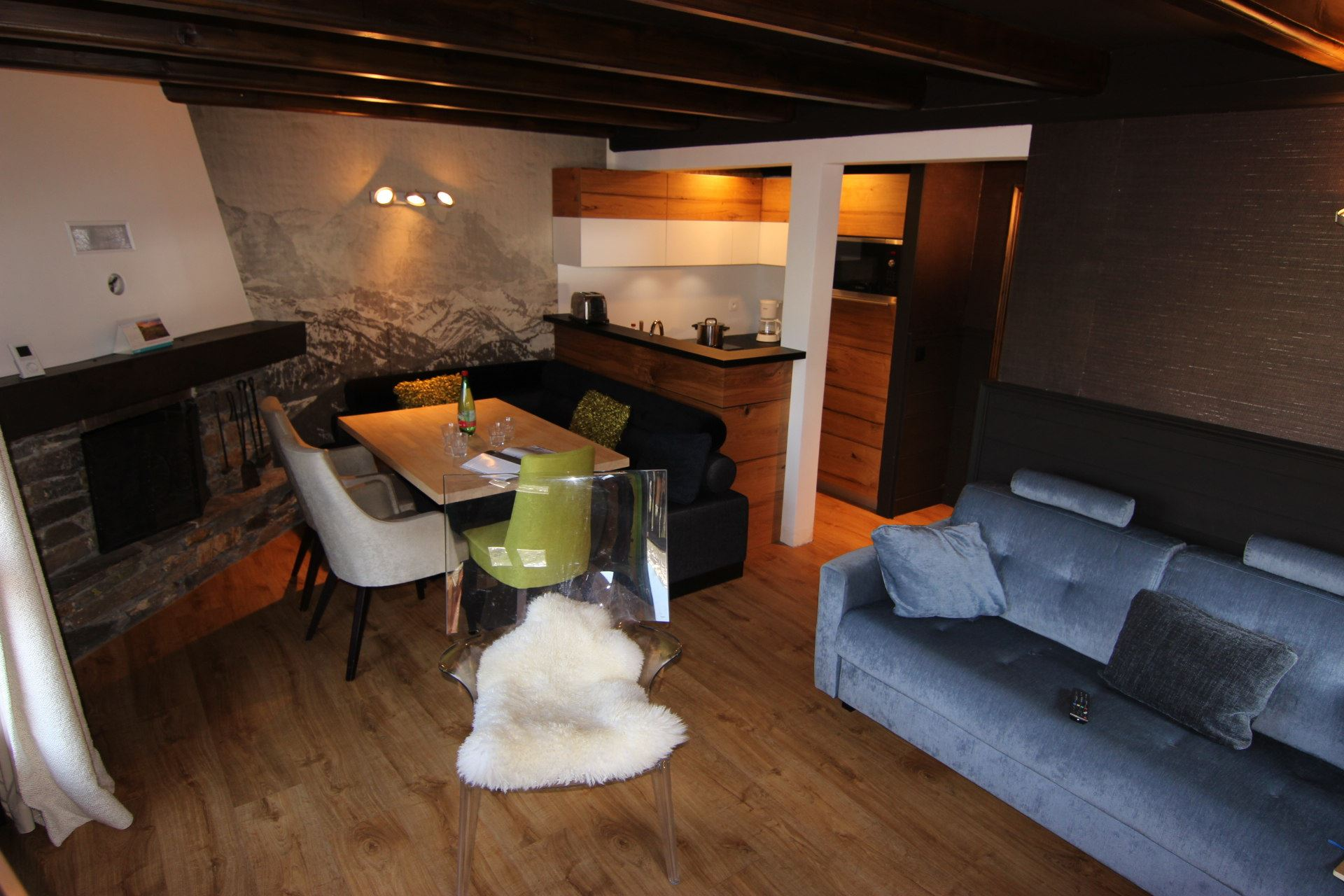 CHALET EMERAUDE 2 / 3 PIECES 6 PERSONNES - 3 FLOCONS OR - VTI