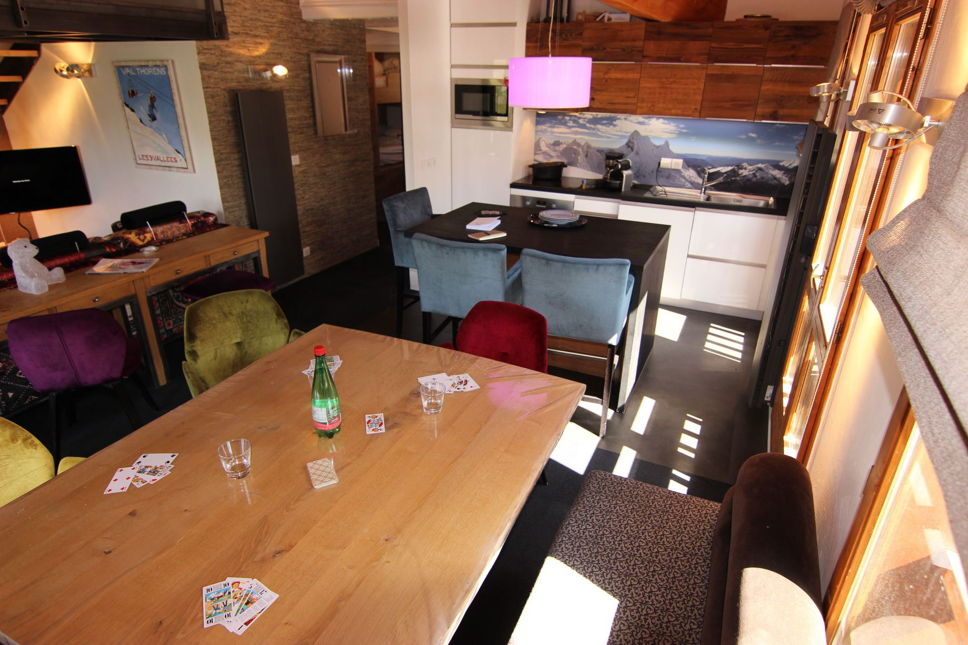CHALET EMERAUDE 5 / APARTMENT 4 ROOMS MEZZANINE 8 PERSONS - 3 GOLD SNOWFLAKES - VTI