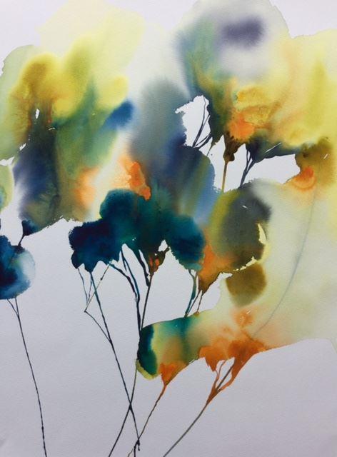 AKVARELLKURS - Experimentell Akvarell I