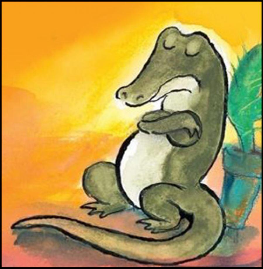 Sjov med ord: Krokodillebarnet Karl på Nakskov Bibliotek