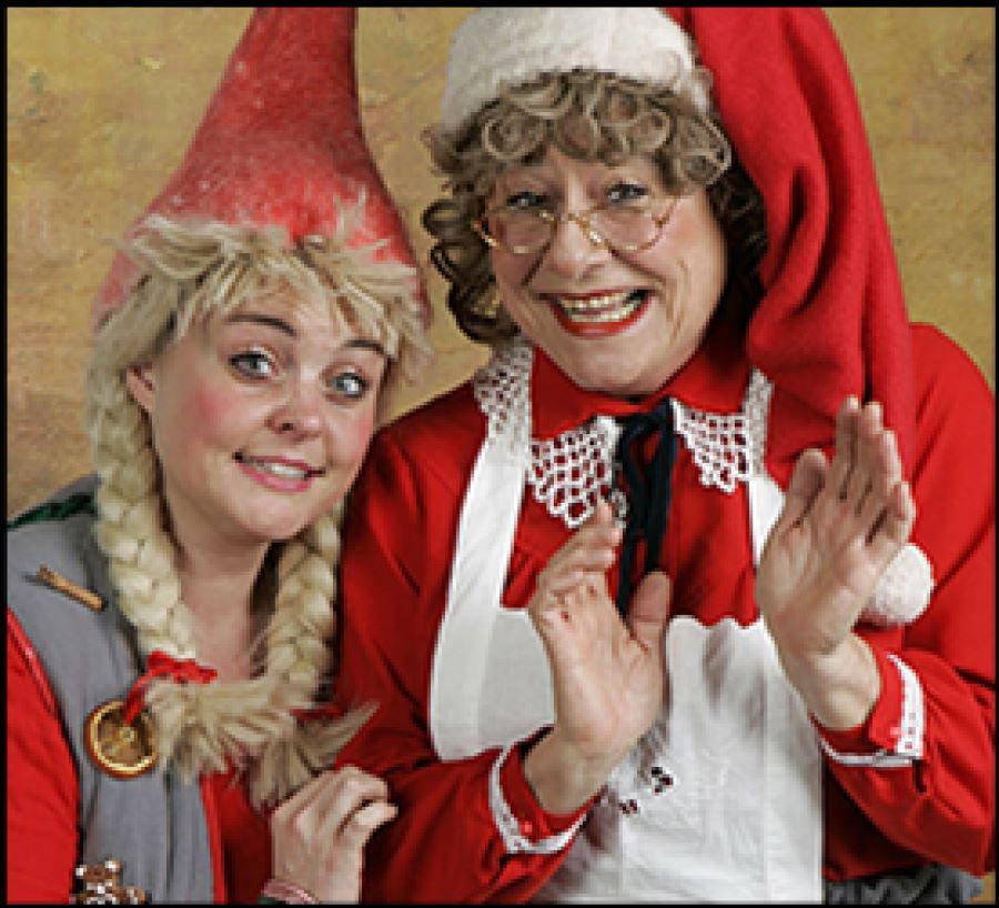 Nissemor og Kanelia i julenød i  Søllested Bio & kulturhus