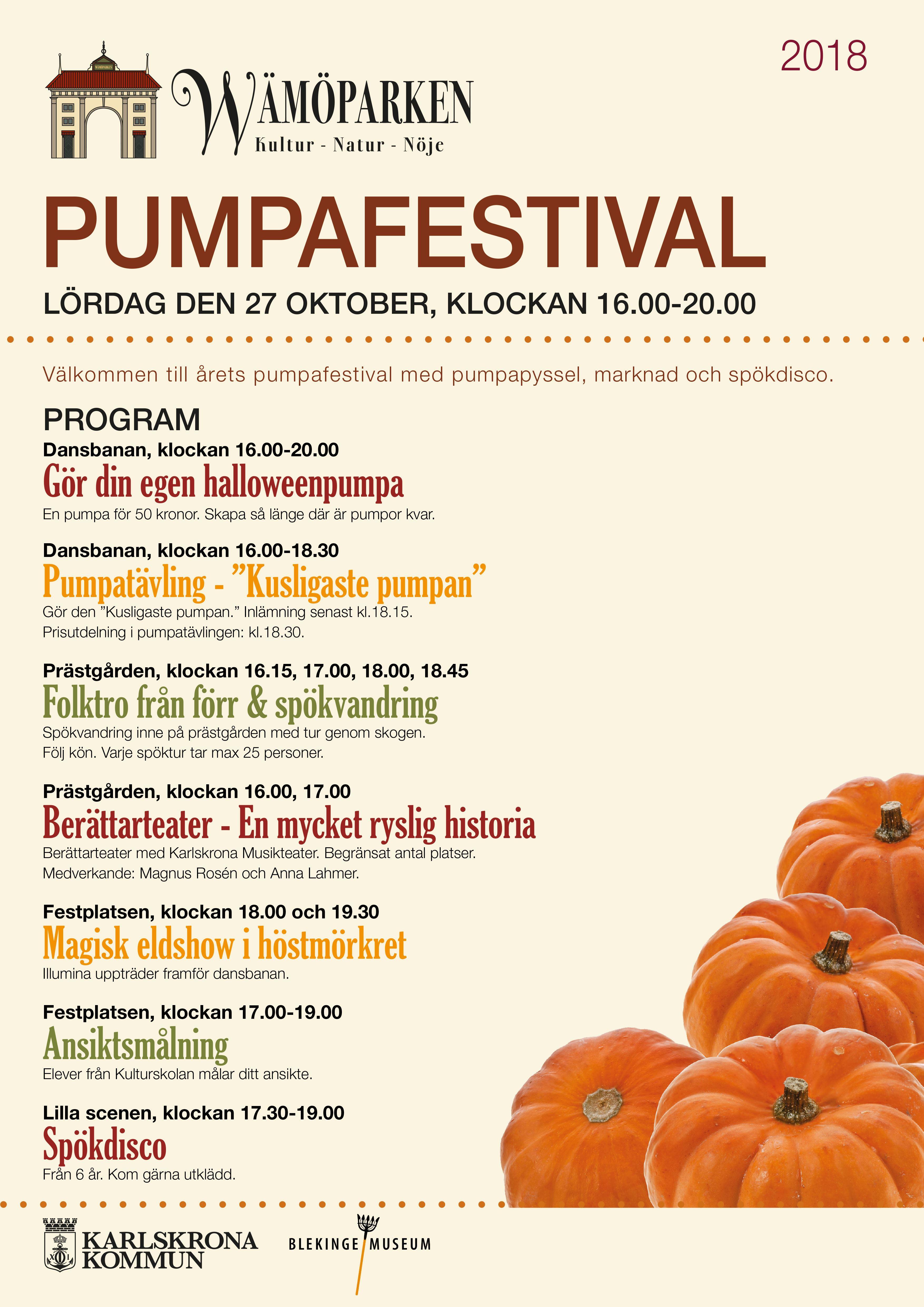 Pumpkin festival - Wämö park