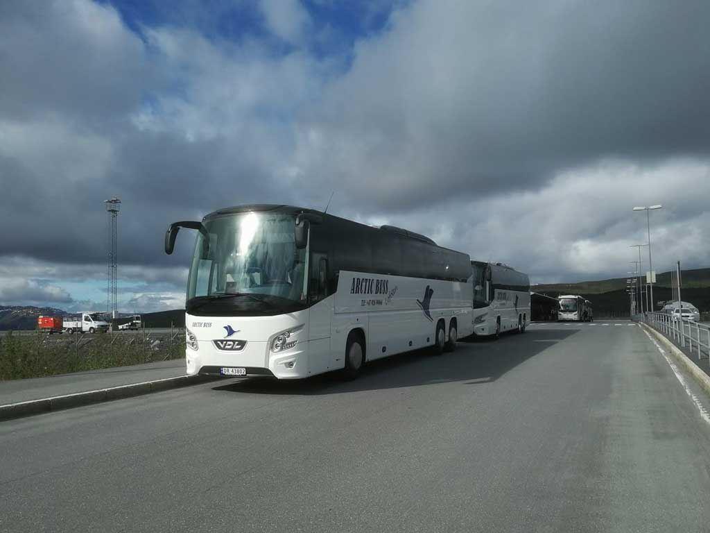 © Arctic Buss Lofoten, Transfer Evenes airport (EVE)